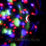 Вращающаяся RGB диско-лампа, индикация звука