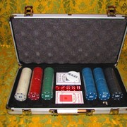 Набор для игры в Покер фотография