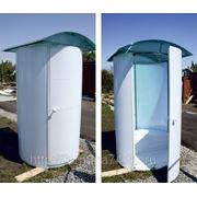 "Туалетная кабина из поликарбоната ""Шаттл"" фото"