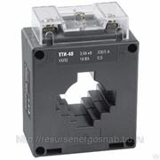 Трансформатор ТТИ-60 600/5А 10ВА кл.точн.0,5 ИЭК фото