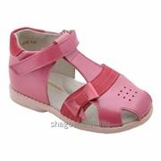 Туфли открытые для девочки арт. 14127 фото