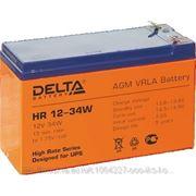Delta HR 12-34W Батарея Battery replacement APC RBC17,RBC23,RBC24,RBC33, 12В, 9Ач, 151мм/94мм/65мм