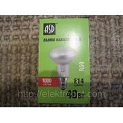 Лампа ASD R50 40ВТ Е14 МТ фото