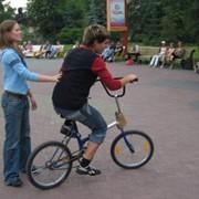 Аттракцион пьяный велосипед фото