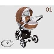 Детская универсальная коляска 3 в 1 DPG Galileo модель 1 фото