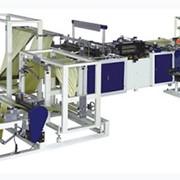 Оборудование для изготовления пакетов, для производства мусорных пакетов в рулонах с завязками, линии для изготовления полиэтиленовых пакетов, Украина. фото