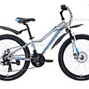 Велосипед Stark Rocket 24.2 D (2020) Серебристый фото