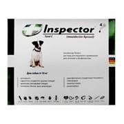 Капли для собак 4-10 кг от внешних и внутренних паразитов 1 шт Inspector фото