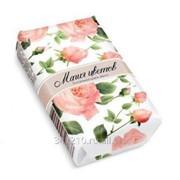 Мыло Магия цветов Роза 75г в обертке фото