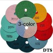 Гибкие шлифовальные полировальные диски «3-color» фото