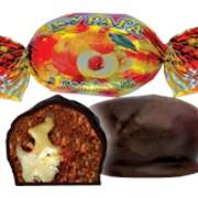 Курага с грецким орехом в шоколадной глазури фото