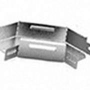 Угловой соединитель плоский к лотку 300х80 фото
