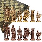 """Шахматы """"Греко-Романский период"""" 44x44x3.0;H=6.5 см. арт.MP-S-11-C-44-B фото"""