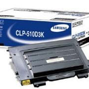 Карт. Samsung CLP-510D3K CLP-510, 515 черный фото