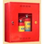 Шкаф пожарный навесной открытый/закрытый фото