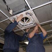 Монтаж систем вентиляции теплиц фото