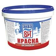 Краска ВД-АК-104 резиновая белая 2,2 кг.(ведро) фото