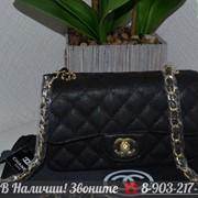 Сумка Caviar 20 Клатч Chanel 2.55 Кожа Шанель Икра фото