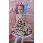 Платье дошкольное фото
