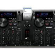 Сдвоенный CD/MP3-проигрыватель/микшер Numark iCDMIX 3 фото