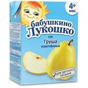 Б.лукошко сок грушевый осветленный (с 4 мес) 200мл тетрапак фото