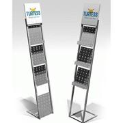 Рекламная стойка металлическая (Изготовление под заказ-Авизо-) фото