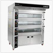 Модульная электрическая подовая печь для хлебобулочных и кондитерских изделий EKF-120x80/3 фото