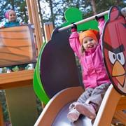 Детские площадки Angry Birds фото