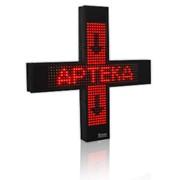 Одноцветный светодиодный аптечный крест, Украина, Киев фото