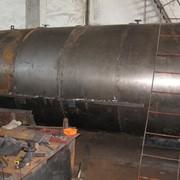 Бочки для производства древесного угля фото