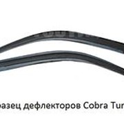 Дефлекторы окон Cobra Tuning для Nissan Micra 3d (K12) 2003 фото