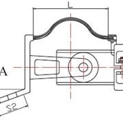 Соединительный переходной зажим типа CЗТ2-Ш фото