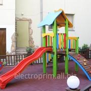 Игровой комплекс модель Д03-2 Игровые комплексы серии Маленький фото
