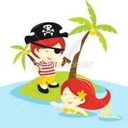 Пират и Русалка фото
