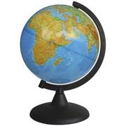 Глобус физический, 21 см, на круглой подставке (Глобусный мир) фото