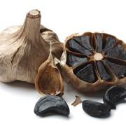 Чеснок чёрный ферментированный фото