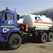 Транспортировка (доставка) сжиженного газа собственным автотранспортом. фото