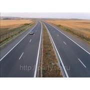 Термопластик для дорожной разметки белый фото