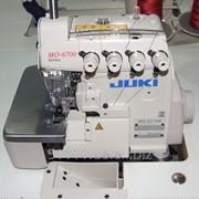 Промышленная 4-ниточная краеобметочная машина Juki 6714s фото