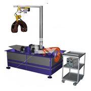 Стенд дефектоскопии валов тягового электродвигателя и главного генератора с магнитопроводом фото