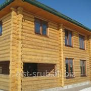 Деревянный дом ручной рубки фото