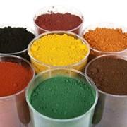Пигмент для бетона - железоокислый (железоокисный) фото
