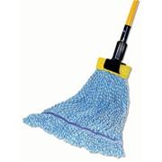 Тряпка для швабры из хлопка, влажная уборка Wet mop 40 cm фото