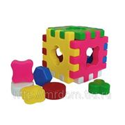Куб 90020 логический игрушкин (835533) фото