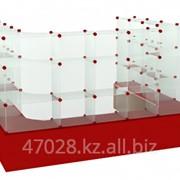 Витрина торговая модульная П-образная 15. фото