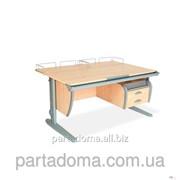 Стол универсальный трансформируемый СУТ.15-04 клен/серый фото