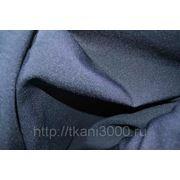 Габардин темно - синий фото