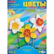 """Цветы из флиса """"нарциссы"""" (821235) фото"""