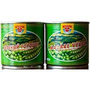 Зеленый горошек консервированный жестебанка фото