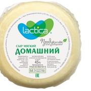Cыр мягкий Домашний 45%, 100-130г фото
